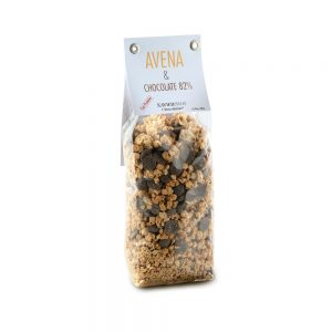 GRANOLA AVENA & CHOCOLATE 82%